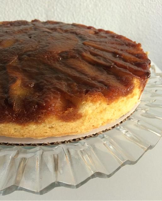 Caramel Pear cake (2)