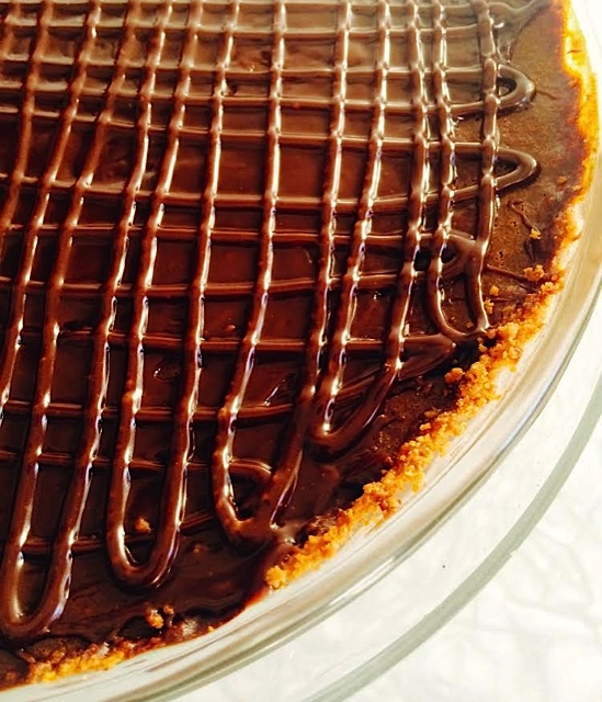 Triple Chocolate Pumpkin Pie – Clairesquares – Artisan ...
